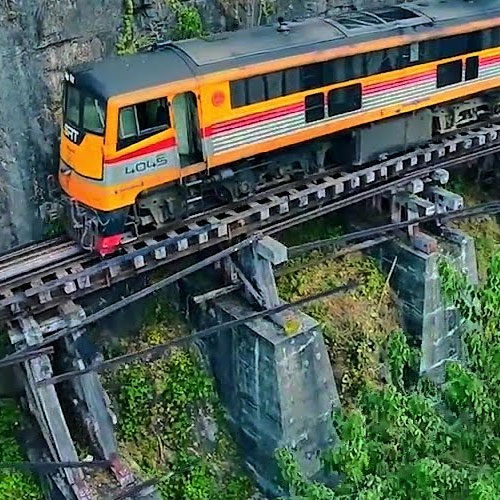 Erawan National Park and Train on the Death Railway